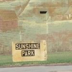 Sunshine Park Sign
